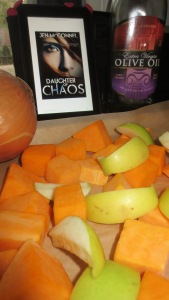 "#YABookCook with ""Daughter of Chaos"" and Roasted Butternut Squash Soup"