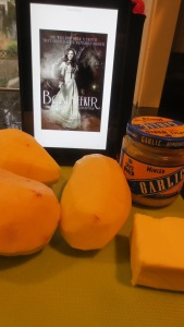 "#YABookCook with ""Boneseeker"" by Brynn Chapman, and Snail Potatoes"